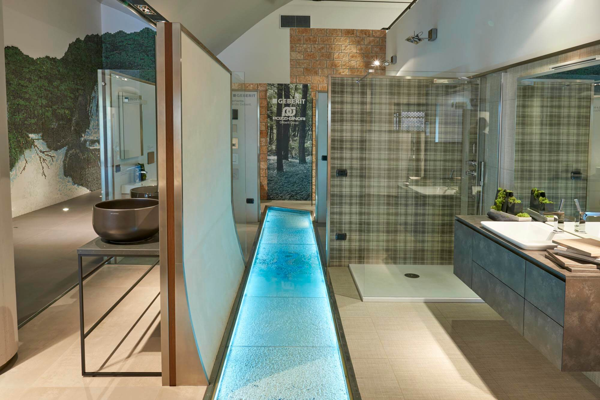 Showroom SVAI_Caselle pavimento acqua