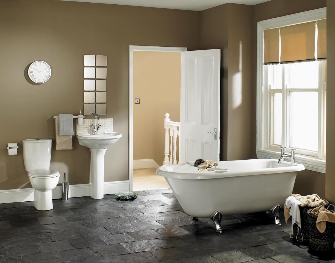 pavimenti e rivestimenti SVAI_bagno design gres effetto pietra