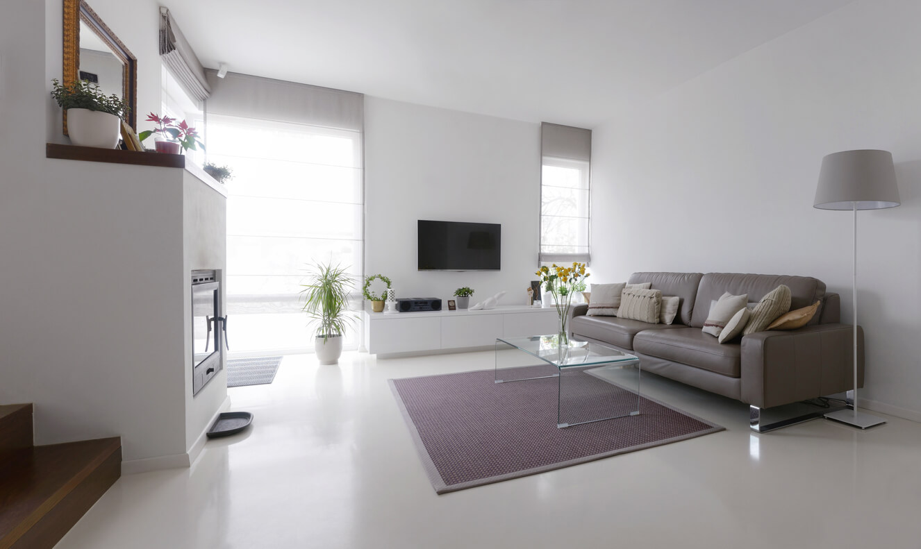 pavimenti e rivestimenti SVAI_resina salotto casa design