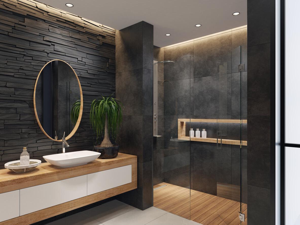 pavimenti e rivestimento SVAI_rivestimento bagno nero