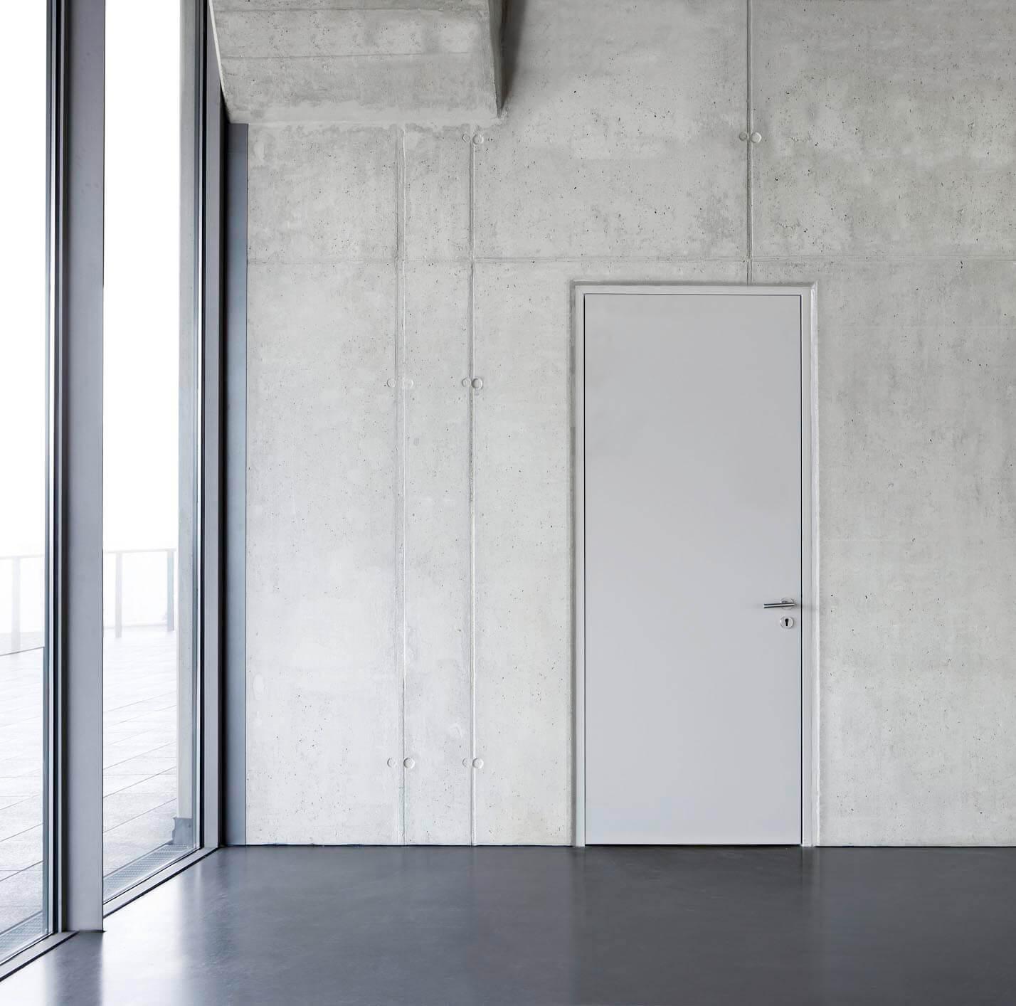 SVAI_porta interna bianca con telaio filomuro copia