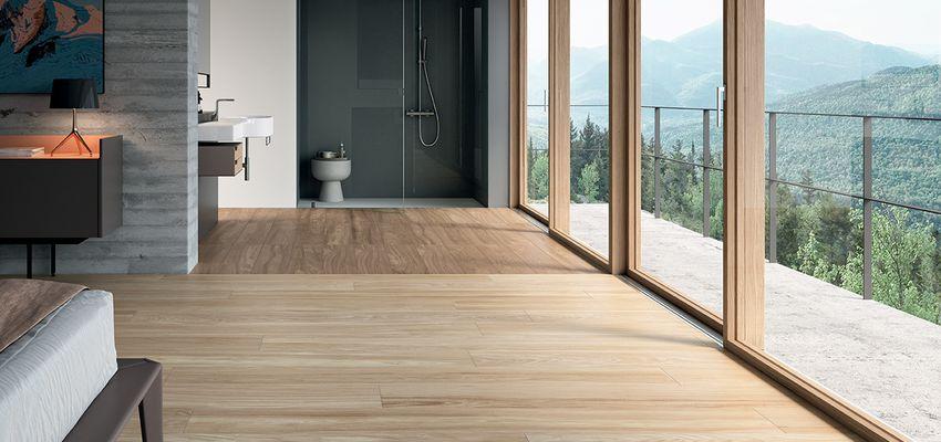 Pavimento bagno in legno