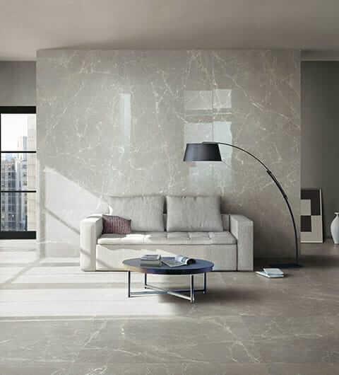 Pavimento e rivestimento marmo grigio
