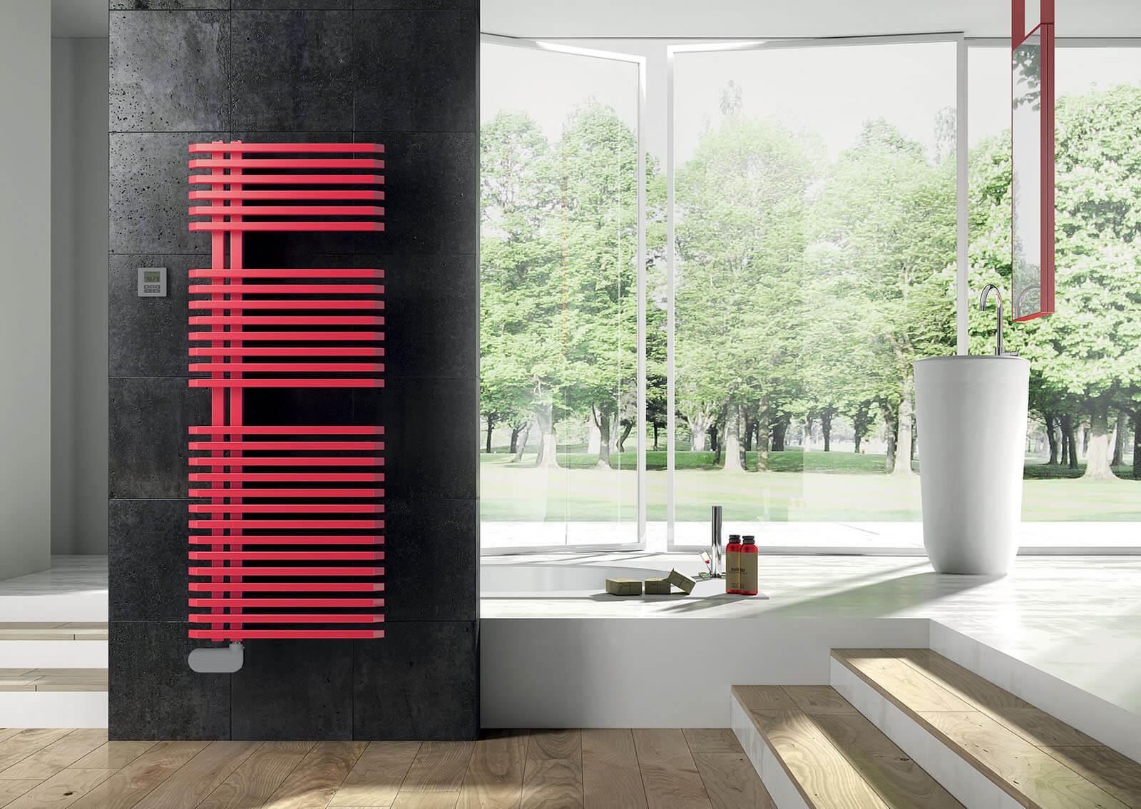 SVAI Radiatore rosso design