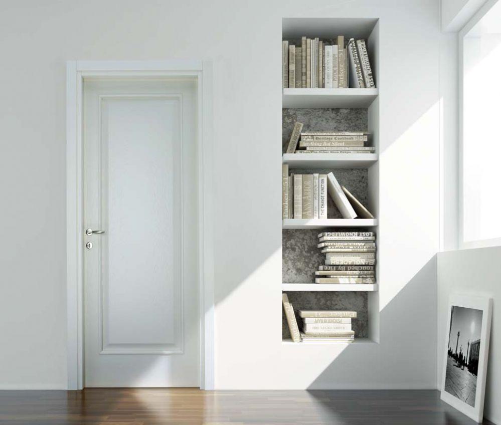SVAI_porta in legno bianca
