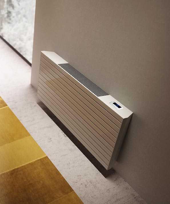 SVAI_termosifone radiatore con ventilazione caldo-freddo orizzontale