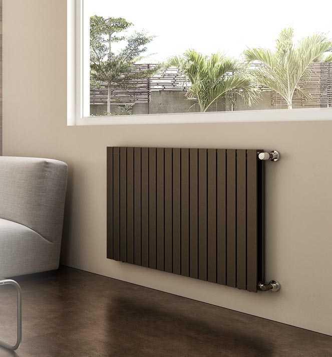 SVAI_termosifone radiatore moderno verticale_marrone