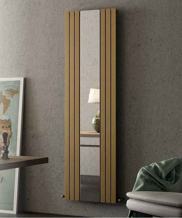 SVAI_termosifone radiatore monocolonna colorato con specchio