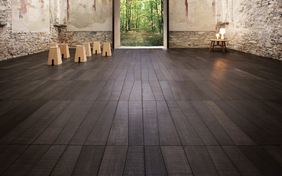 pavimenti e rivestimenti SVAI_parquet legno scuro listone giordano