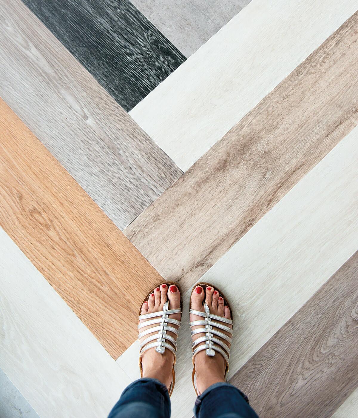 pavimenti e rivestimenti SVAI_campioni listelli laminato