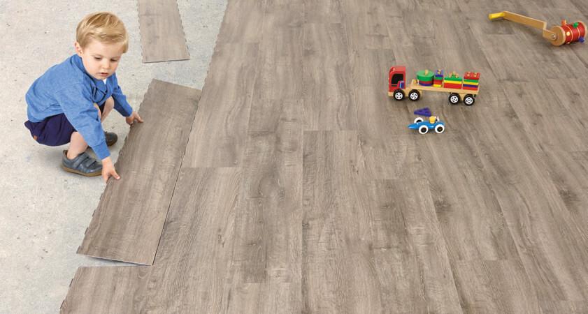 pavimenti e rivestimenti SVAI_pvc finto legno posa click