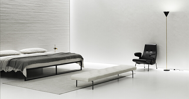 pavimenti e rivestimenti SVAI_resina bianca camera moderna
