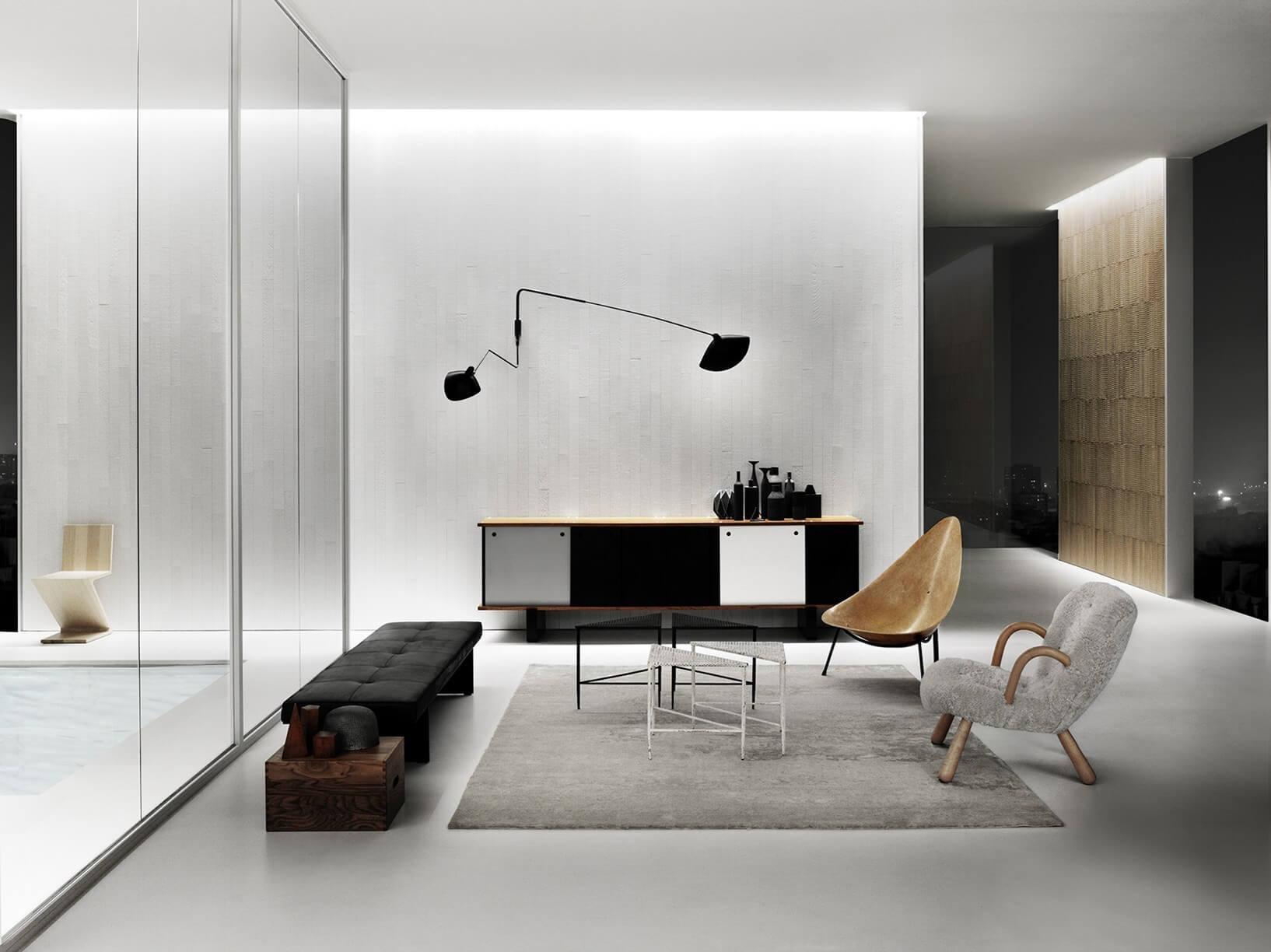 pavimenti e rivestimenti SVAI_resina bianca casa moderna