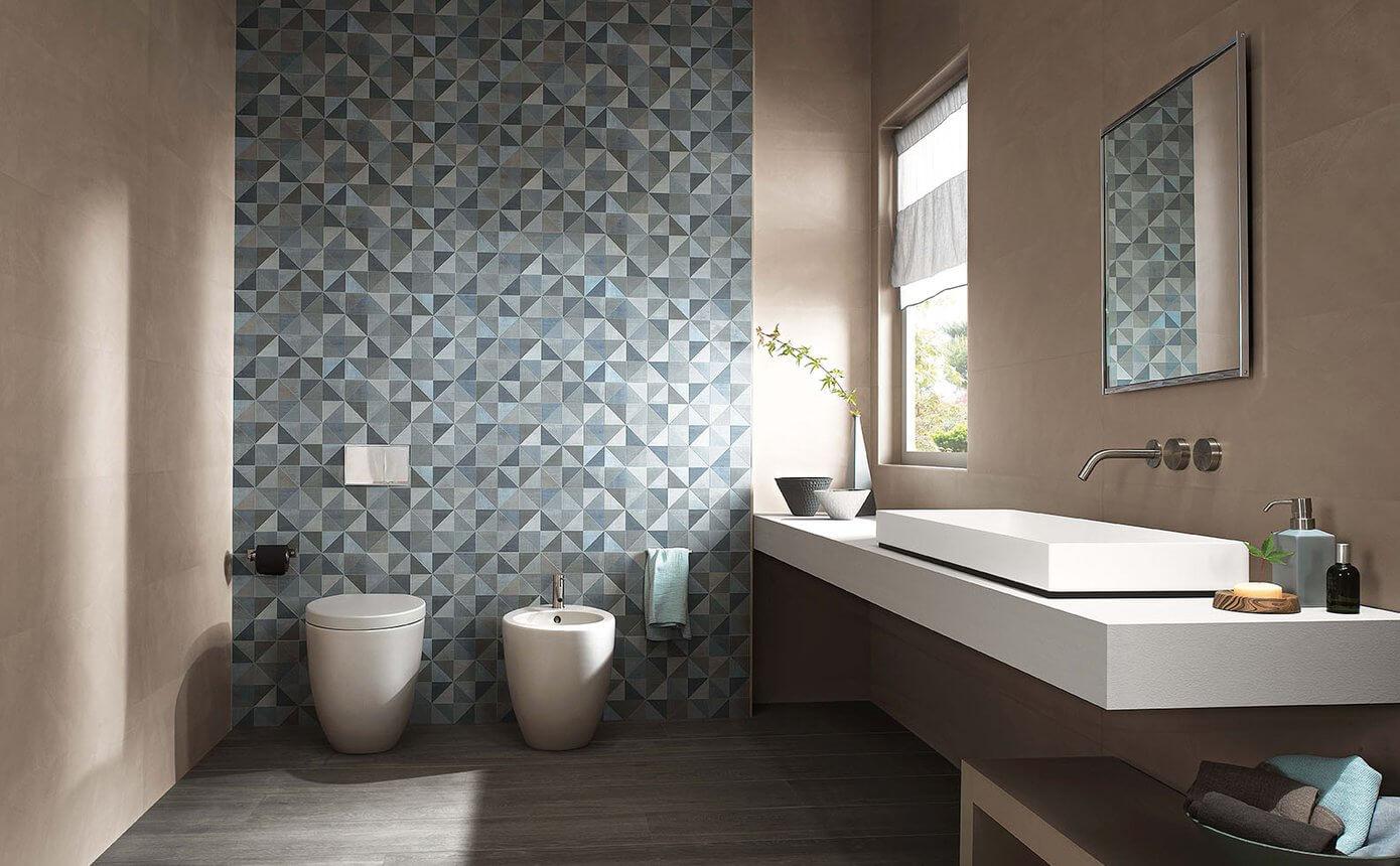 pavimenti e rivestimenti SVAI_rivestimento colorato azzurro geometrico