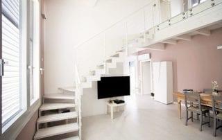 scale in ferro e legno per interni